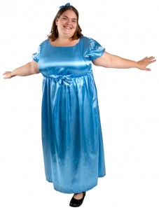 Wendy Darling Costume Plus Size