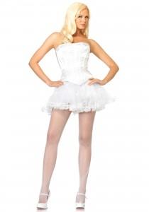 White Corset Costume