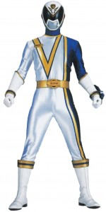 White Power Ranger Adult Costume