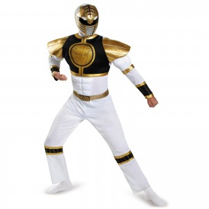 White Power Ranger Costume