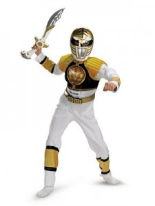 White Ranger Adult Costume