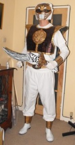 White Ranger Halloween Costume