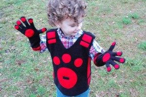 Wild Kratts Costume Pattern