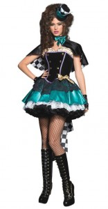 Woman Mad Hatter Costume