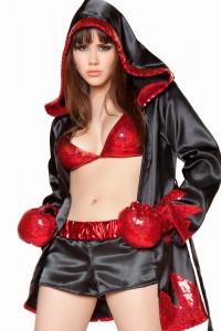 Women Boxer Costume