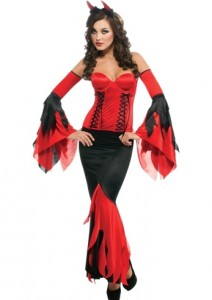 Women Devil Costume