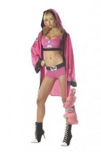 Womens Boxer Costume