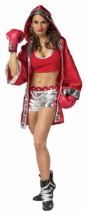 Womens Boxer Halloween Costume