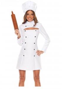 Womens Chef Costume