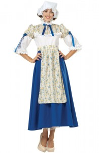Womens Colonial Costume