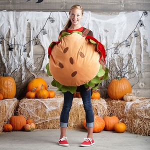 Womens Hamburger Costume