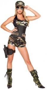 Womens Military Costume
