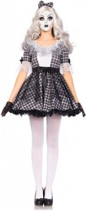 Womens Porcelain Doll Costume