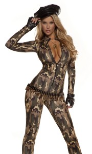 Womens Soldier Costume