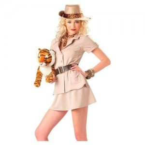Womens zoo Keeper Costume