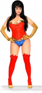 Wonder Woman Costume Corset