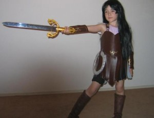 Xena Costume Kids