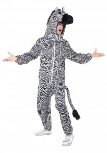 Zebra Costume Adults