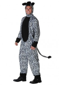 Zebra Costume Men