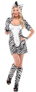 Zebra Costume Women