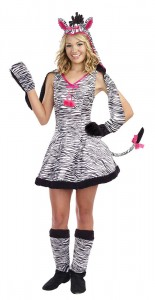 Zebra Costume for Girls