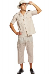 Zoo Keeper Costume for Mens