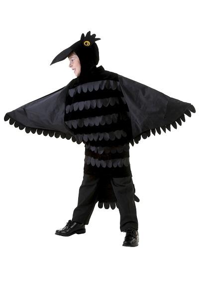 Raven Bird Costume For Kids
