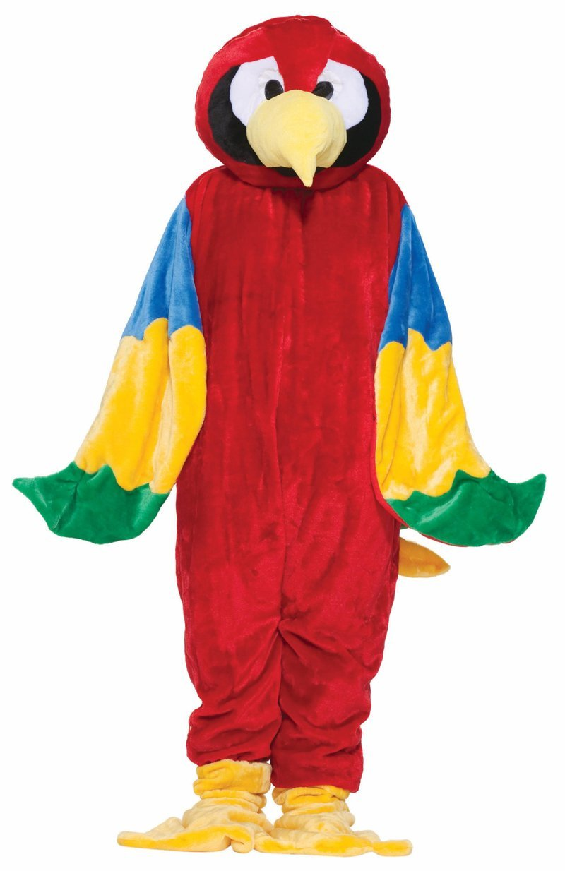 Have Adult big bird costume join. And