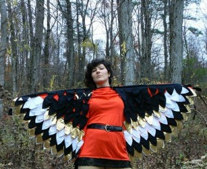 Bird Wings Costume