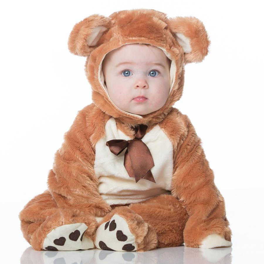 Teddy Bear Costumes Men Women Kids Parties Costume