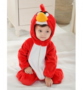 Red Bird Costume