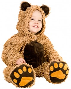 Teddy Bear Costume Baby