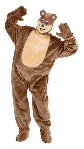 Teddy Bear Costume Male
