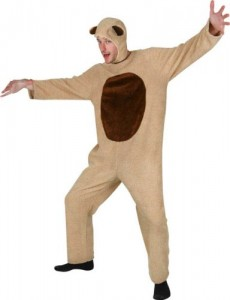 Teddy Bear Costume for Adults