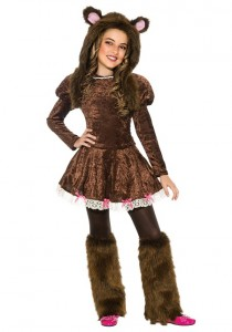 Teddy Bear Costumes for Girls