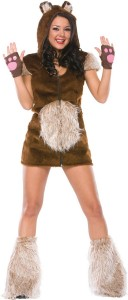 Womens Teddy Bear Costume