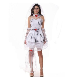 Womens Zombie Bride Costume