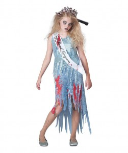 Zombie Bride Costume for Kids