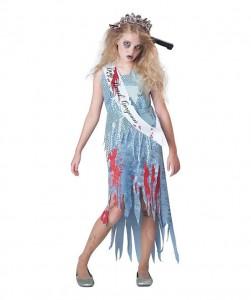 Zombie Bride Costume for Kids