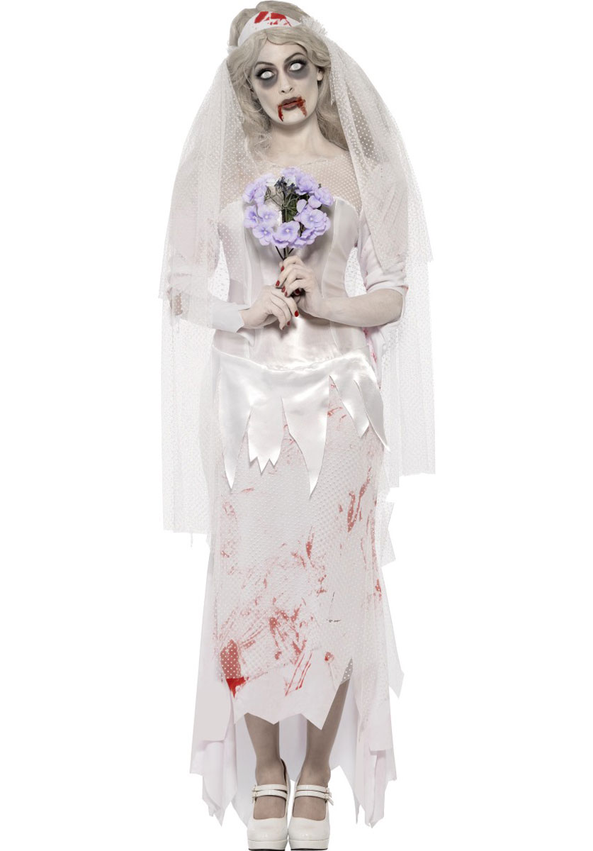 zombie bride costumes parties costume. Black Bedroom Furniture Sets. Home Design Ideas