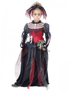 Zombie Bride Kids Costume