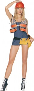 Adult Construction Worker Costume