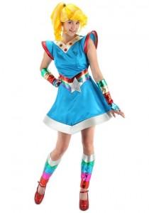 Adult Rainbow Bright Costume