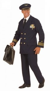 Airplane Pilot Costume