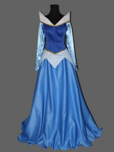 Aurora Blue Dress Costume