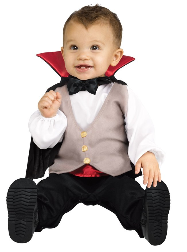 "A Vampire is a time honored costume choice that is both rich in legend and fun to dress up as. Your child will have loads of fun recreating a Vampire look for Halloween. A more traditional Vampire akin to Bram Stoker's ""Dracula"" is a popular choice as this characterization is the basis for most of today's modern folklore in regards to."