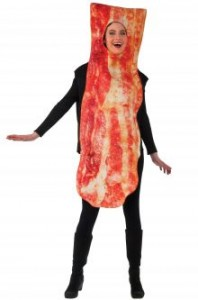Bacon Costume Girl