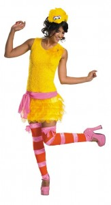 Big Bird Adult Costume