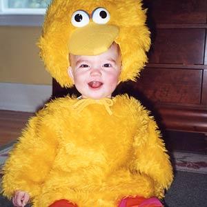 Big Bird Baby Costume