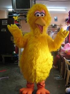 Big Bird Mascot Costume